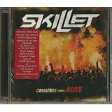 Cd Dvd Skillet Comatose Comes Alive Novo Lacrado [encomenda]